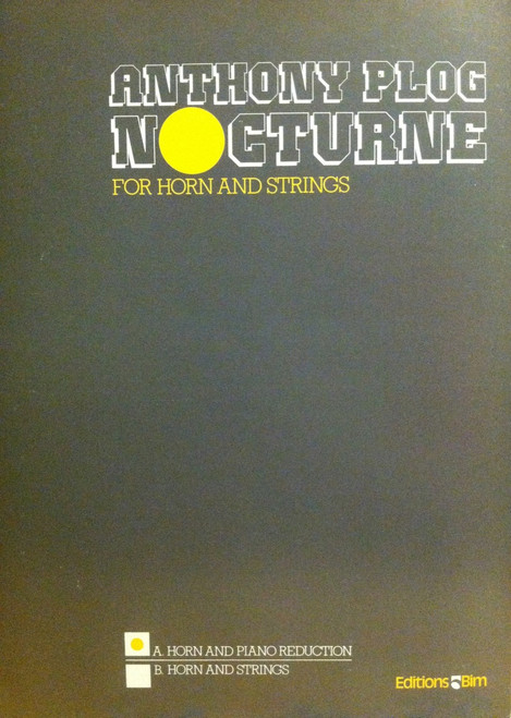 Plog, Anthony - Nocturne (image 1)