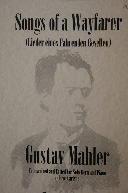 Mahler, Gustav - Songs of a Wayfarer (image 1)