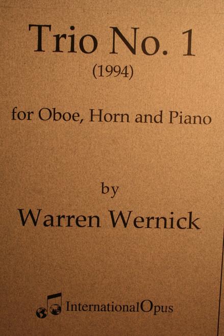 Wernick, Warren - Trio No.1 (Horn, Oboe, Piano)