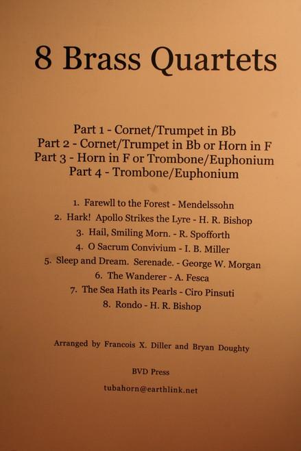 Traditional - 8 Brass Quartets