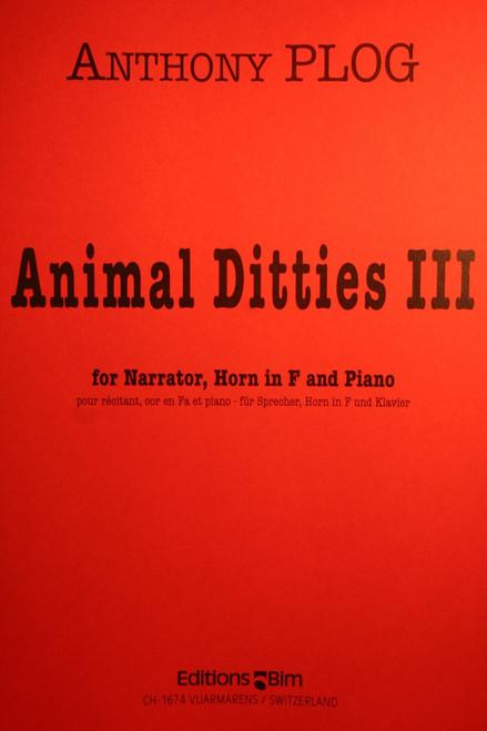 Plog, Anthony - Animal Ditties III