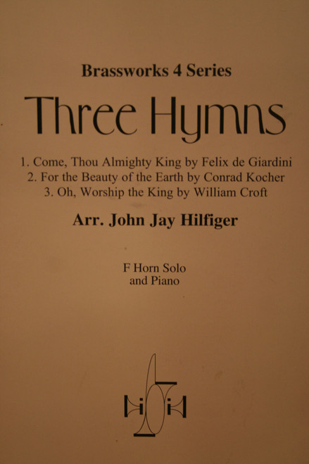 Traditional - Three Hymns (Arranged by John Jay Hilfiger) (image 1)
