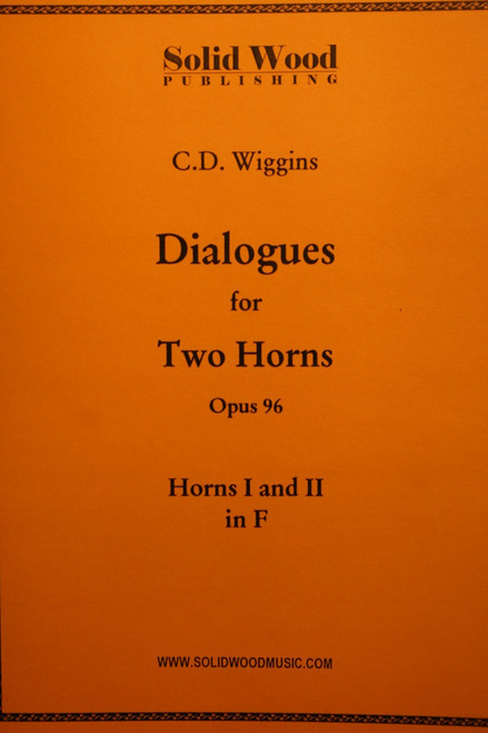 Wiggins, C.D. - Dialogues For 2 Horns, Op. 96