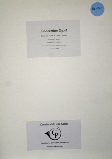 Weber, Carl Maria von - Concertino Op. 45