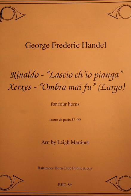 Handel - Rinaldo and Xerxes