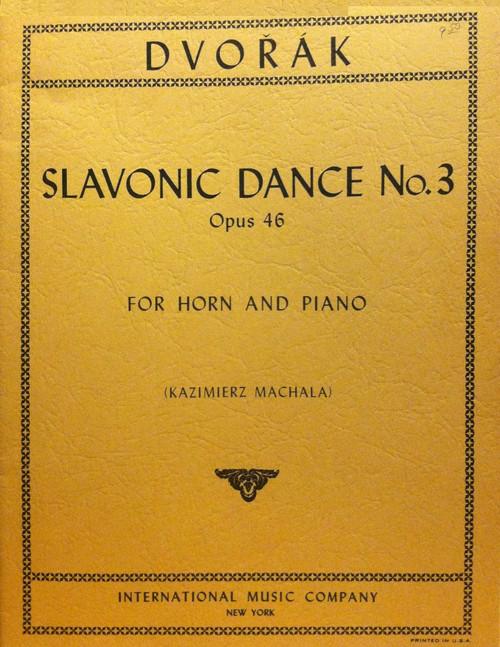 Dvorak, Antonin - Slavonic Dance No.3, Op.46 (image 1)