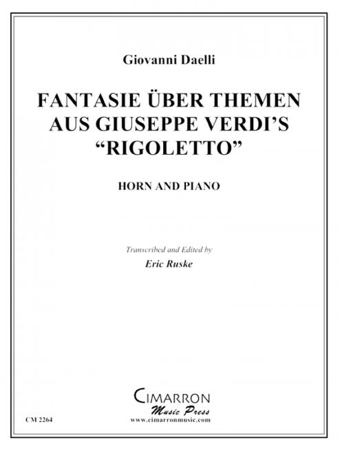 """Daelli, Giovanni - Fantasy an a Theme from Verdi's """"Rigoletto"""" (image 2)"""