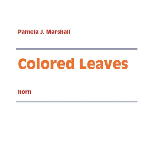 Marshall, Pamela - Colored Leaves (image 1)