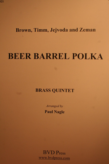 Traditional - Beer Barrel Polka