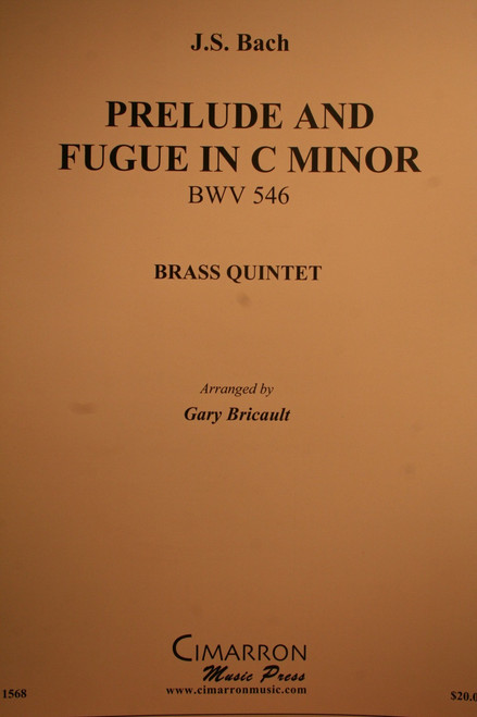 Bach, J.S. - Prelude and Fugue in C Minor, (BWV.546)