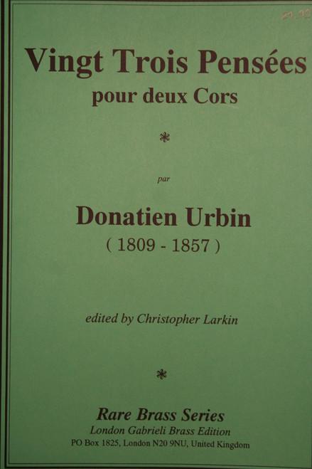 Urbin, Donatien - 23 Duos
