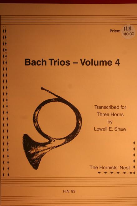 Bach, J.S. - Bach Trios, Vol. 4