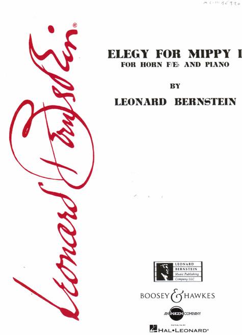 Bernstein, Leonard - Elegy For Mippy (image 1)
