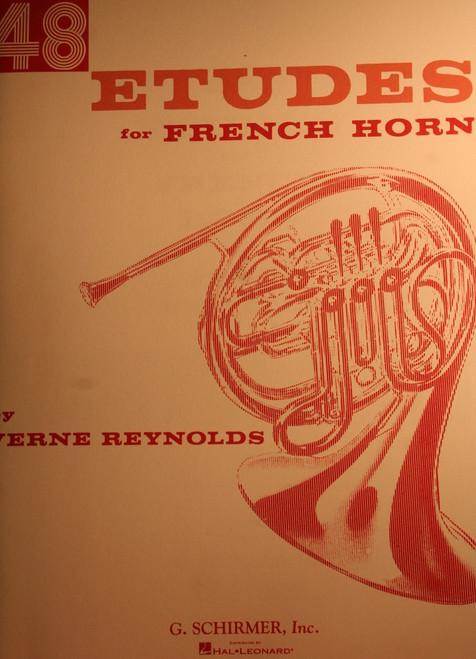 Reynolds, Verne - 48 Etudes For French Horn