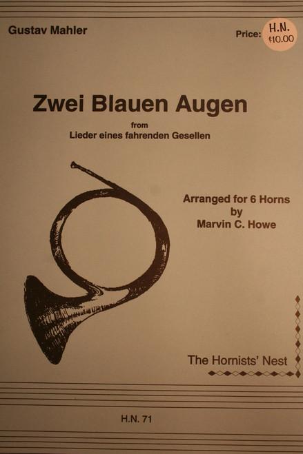 Mahler, Gustav - Zwei Blauen Augen