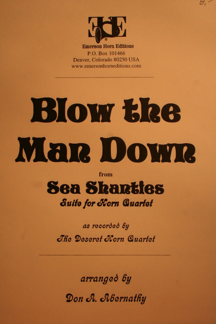 Traditional - Blow The Man Down