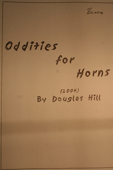 Hill, Douglas - Oddities for Horns
