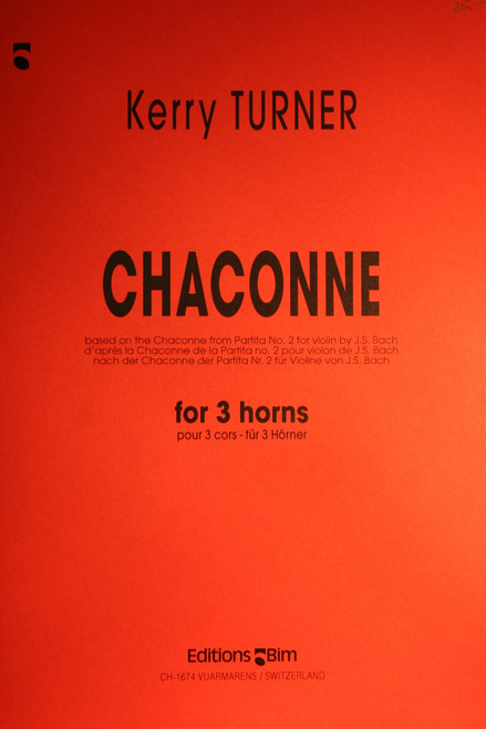 Turner - Chaconne for Horn Trio