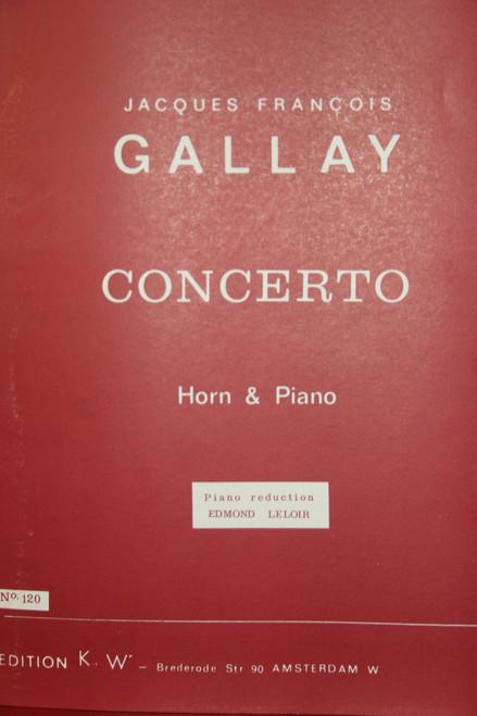 Gallay, J.F. - Concerto, No. 120 (image 1)