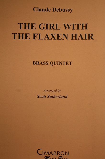 Debussy, Claude - The Girl With Flaxen Hair