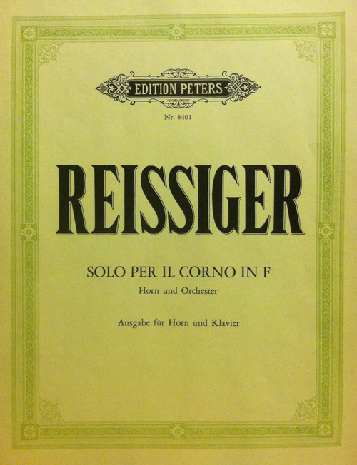 Reissiger, Carl - Solo for Horn in F (image 1)