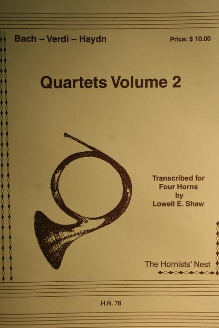 Bach, J.S. - Quartets Vol. 2