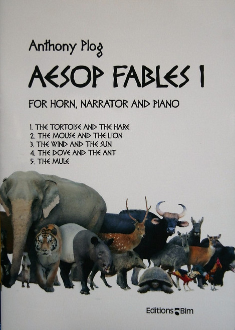 Plog, Anthony - Aesop's Fables For Narrator, Horn & Piano