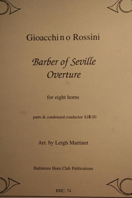Rossini, Gioacchino - Barber of Seville, Overture