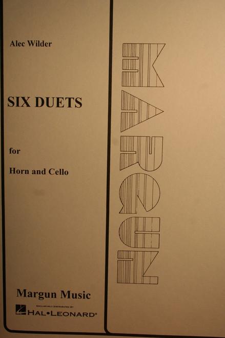 Wilder, Alec - Six Duets (Horn, Cello)