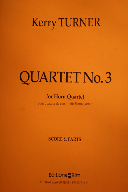 Turner, Kerry - Quartet No. 3