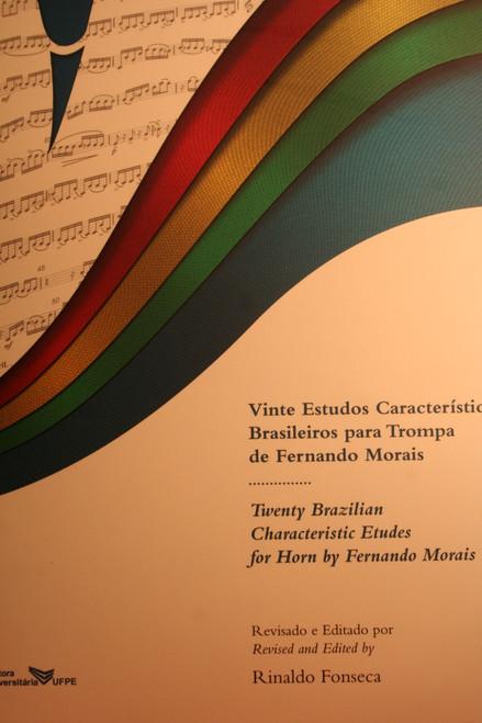 Morais, Fernando - Twenty Brazilian Characteristic Etudes