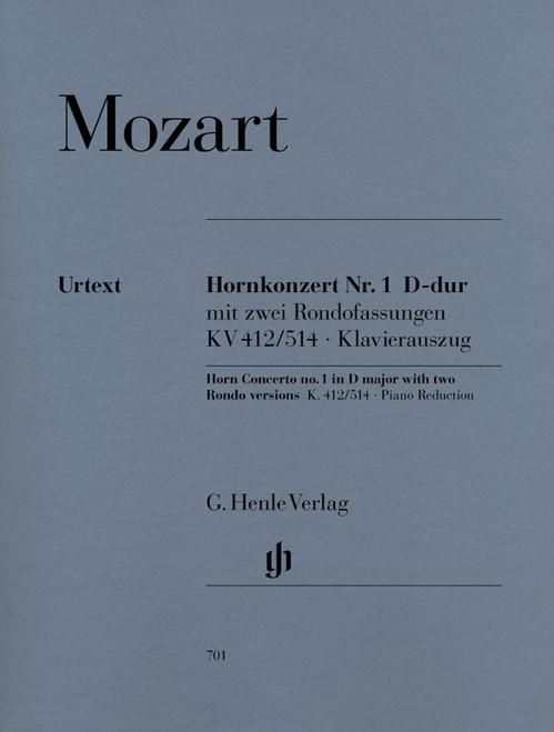 Mozart, W.A. – Concerto No. 1 in D Major (with Rondos), Urtext (image 1)