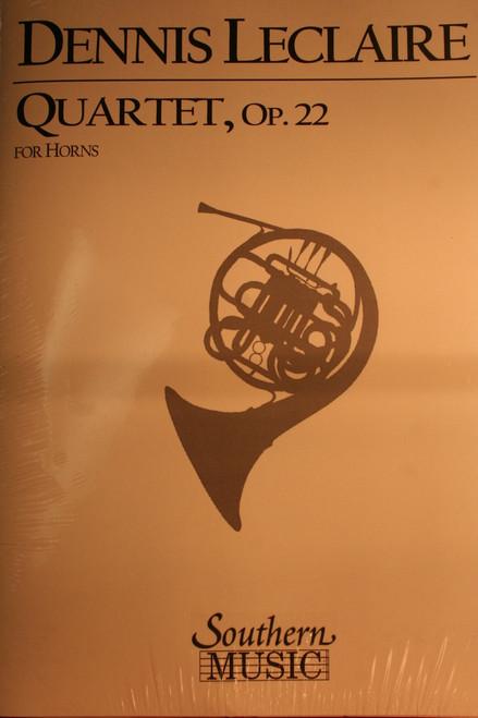 Leclaire, Dennis - Quartet, Op. 22