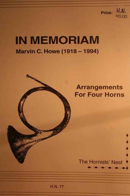 Howe, Marvin - In Memorian