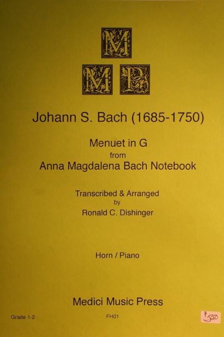 Bach - Menuet in G (Anna Magdalena)
