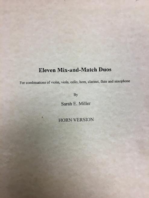 Miller, Sarah - Eleven Mix-and-Match Duos