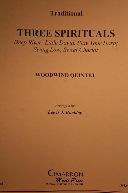 Traditional - Three Spirituals (Arr. Buckley)