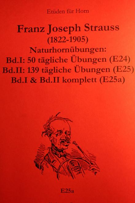 Strauss, Franz - Uebungen, Vol. 1 & Vol. 2 (Complete)