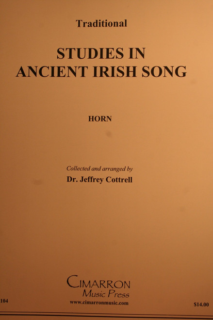 Traditional - Studies In Ancient Irish Song