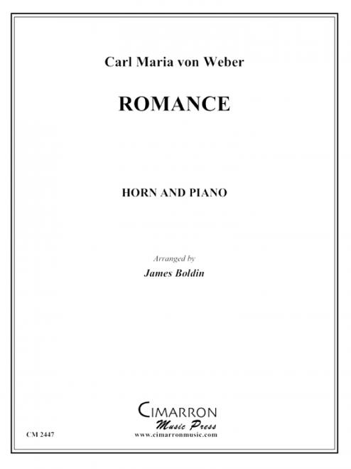 Weber, Carl Maria von - Romance (image 1)