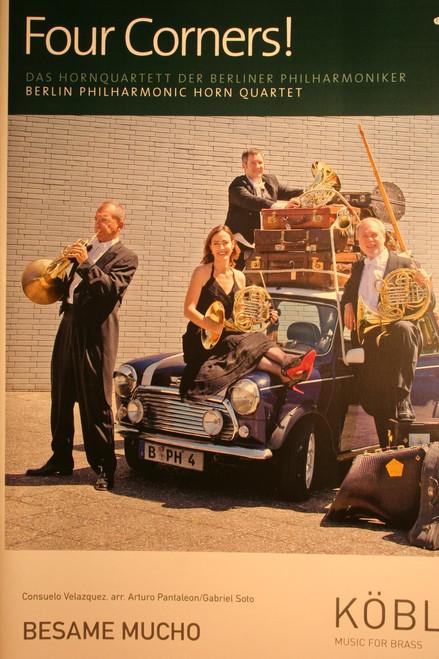 Berlin Philharmonic, Four Corners! - Besame Mucho