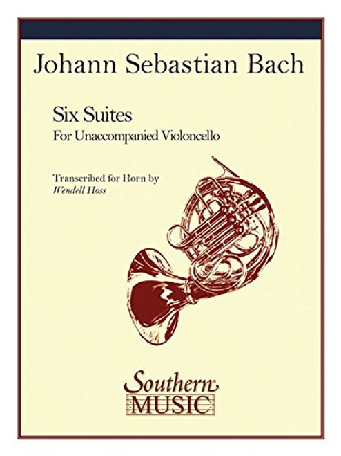 Bach, J.S. - Six Cello Suites for Solo Unaccompanied Horn (Hoss) (image 1)