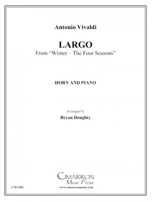 """Vivaldi, Antonio – Largo (from """"Winter – The Four Seasons"""") (image 1)"""