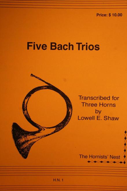 Bach, J.S. - Trios, Volume 1