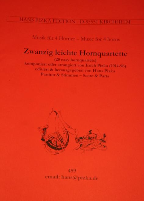 Pizka, Erich - 20 Light Horn Quartets