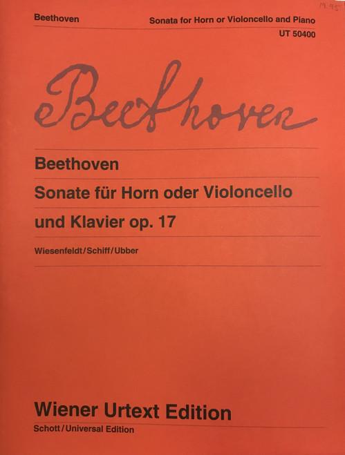 Beethoven, Ludwig - Sonata, Op. 17 (Wiener Ed.) (image 1)