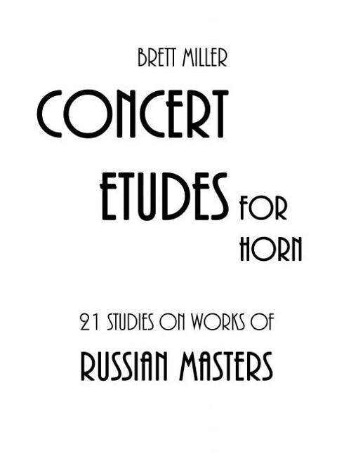Miller, Brett - 21 Studies on Works of Russian Masters
