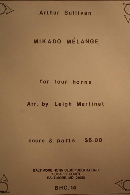 Sullivan, Arthur - Mikado Melange