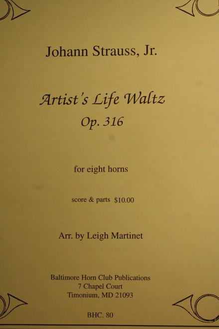 Strauss, Johann - Artists Life Waltz, Op. 316