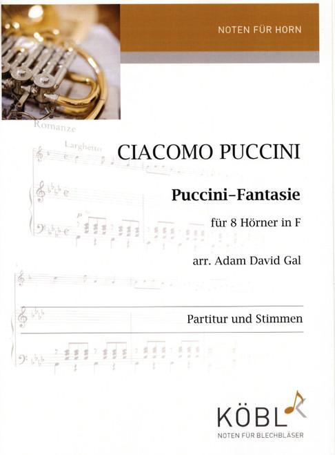 Puccini, Giacomo - Puccini Fantasie for 8 Horns